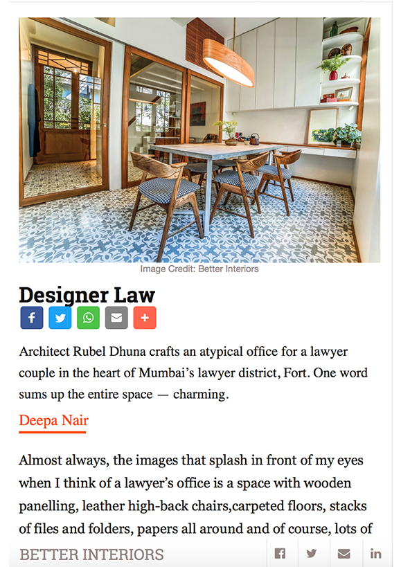 Better Interior online feature 14 - Rubel Dhuna Architect