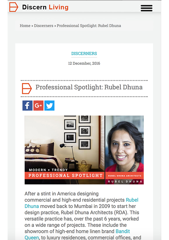 Discern living online feature 15 - Rubel Dhuna Architect