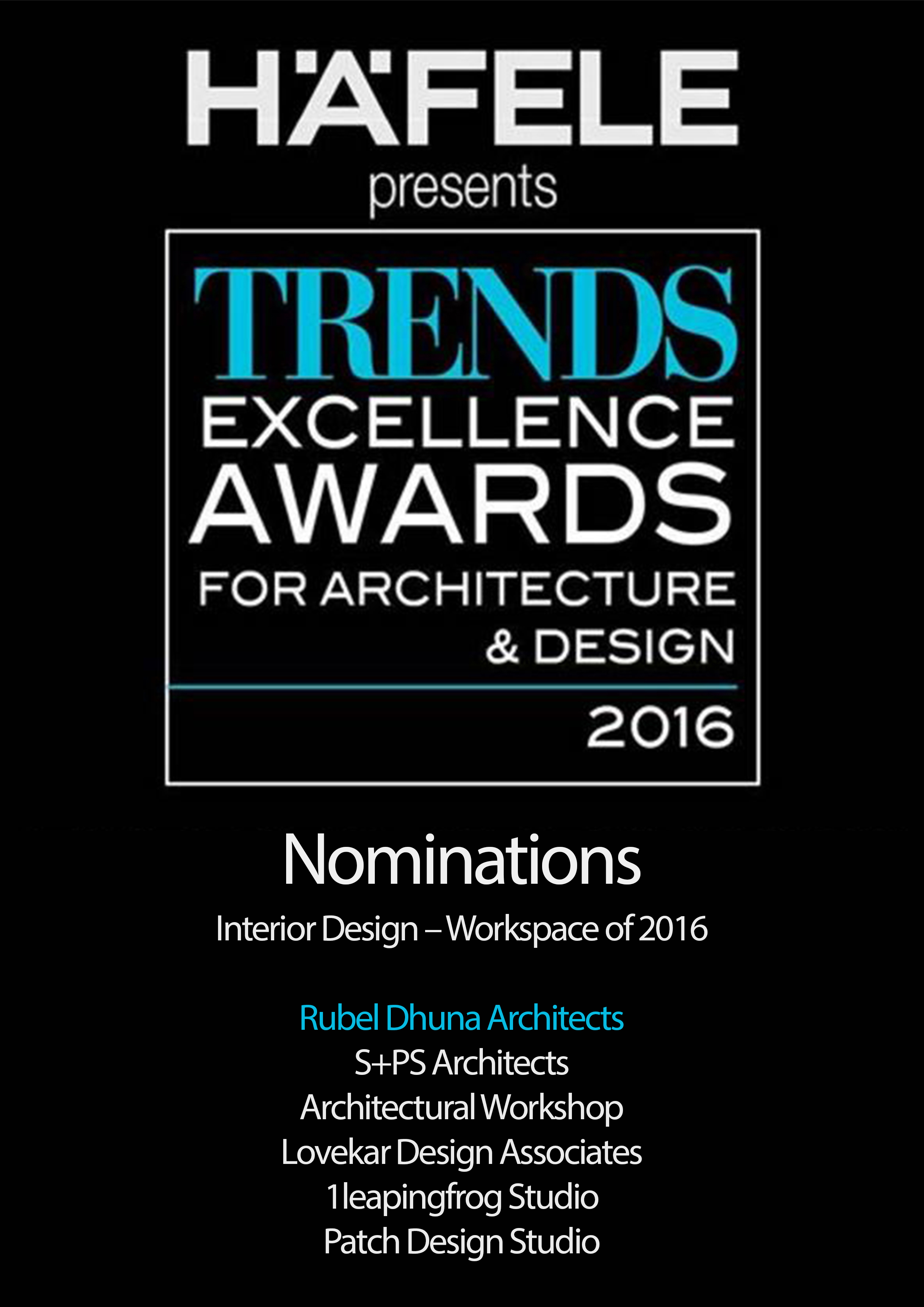 Trends award 17 - Rubel Dhuna Architect