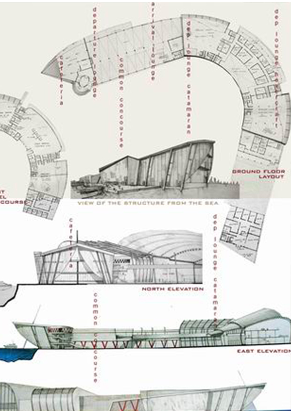 Nexus - The Transport Terminal - Rubel Dhuna Architect